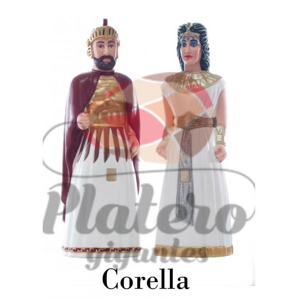 Marco Antonio y Cleopatra (Gigantes Corella)