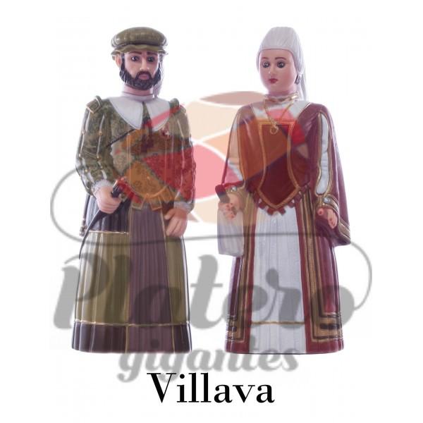 Pedro y María (Gigantes Villava)