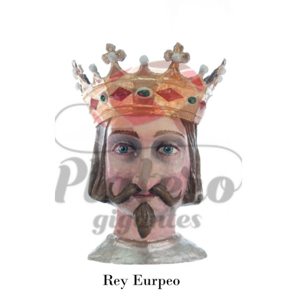 Cabeza Gigante rey europeo
