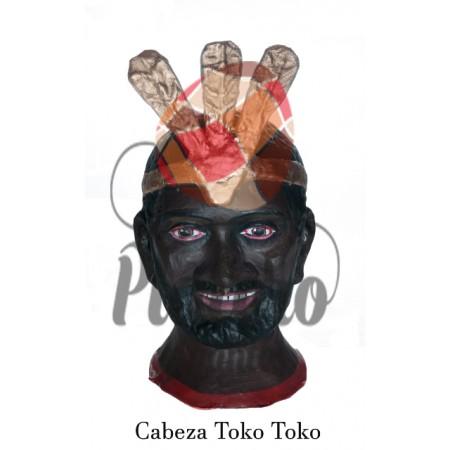 Cabeza gigante Pamplona Toko Toko