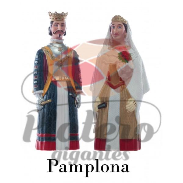 Rey y Reina Europeos (Gigantes Pamplona)
