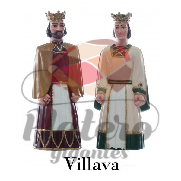Sancho y Sancha (Gigantes Villava)
