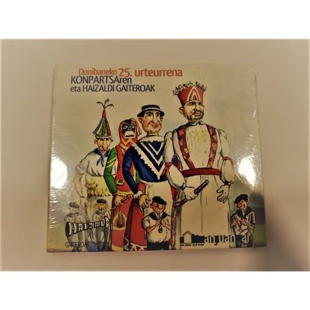CD Audio Donibaneko 25 urteurrena
