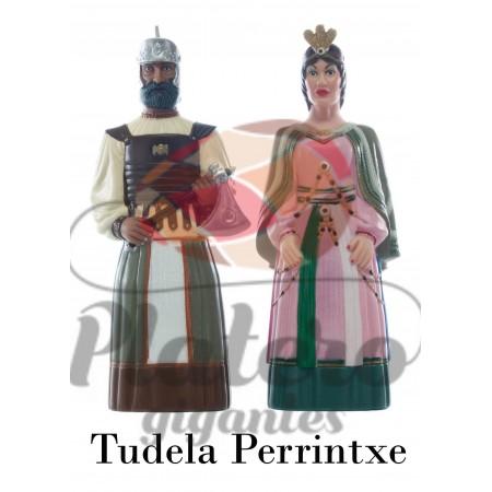 Flavio y Salomé (Gigantes Tudela)