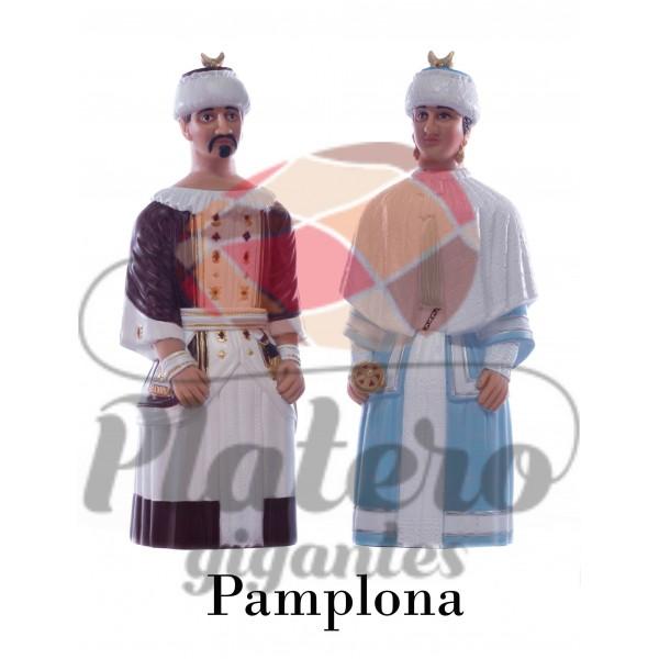 Rey y Reina Asiáticos (Gigantes de Pamplona)