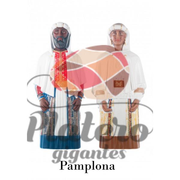 Rey y Reina Africanos (Gigantes Pamplona)