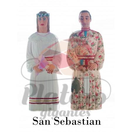 Erromualdo y Estitxu (Gigantes San Sebastian)