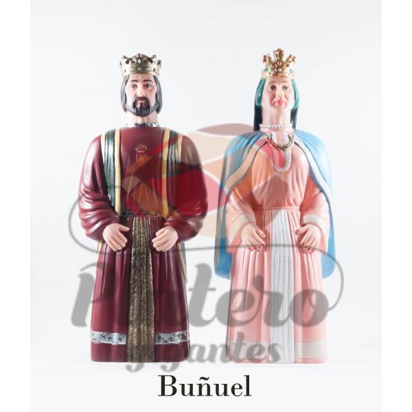 Alfonso y Urraca (Gigantes Buñuel)